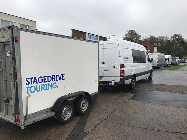 New Stagedrive trailer ready to head out on the Run The Jewels tour w/ Danny Brown!