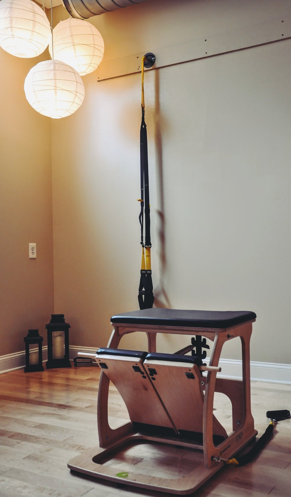 Pilates Chair TRX
