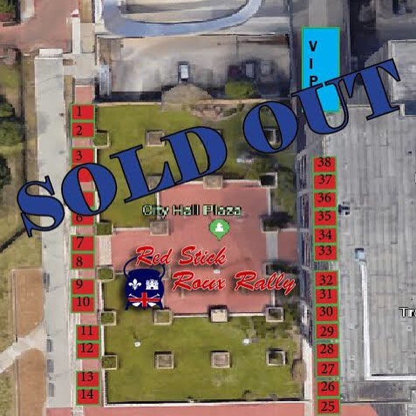 Team Spots are sold out! That doesn't mean you can't be a part of the biggest gumbo cook-off in the South. Discounted tickets are on sale now on our website, just visit Rouxrally.com and click on tickets! Don't miss out! #rouxrally #rouxrally2019
