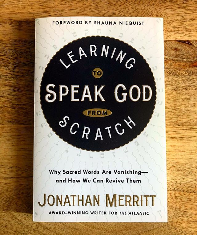 I've had front row seat over the last six months as @jonathan_merritt has seen this book, which has been a labor of love, across the finish line. Jonathan is an important voice for our generation that's struggling with how to make sense of faith in today's culture, and this book shares his journey and offers a way we can all learn how to speak God from scratch and recover the mystery and wonder of our faith. I am beyond proud of him as this book launches today and hope you'll pick up a copy. I've worked on many book launches and this is one I'm very excited to see shared with the world! Grateful for you, JM! #SpeakGodBook