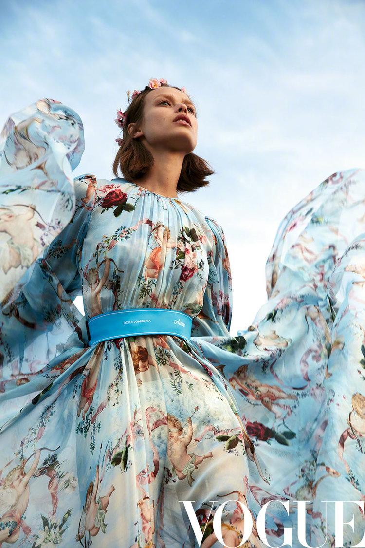 vogue china x camilla akrans - production, fashion, stills