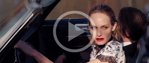 blumarine x amber valLetta - production, fashion, film