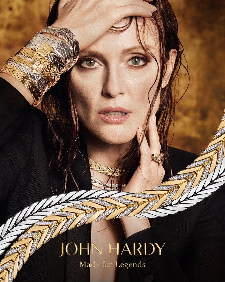 john hardy x julianne moore - production, fashion, stills