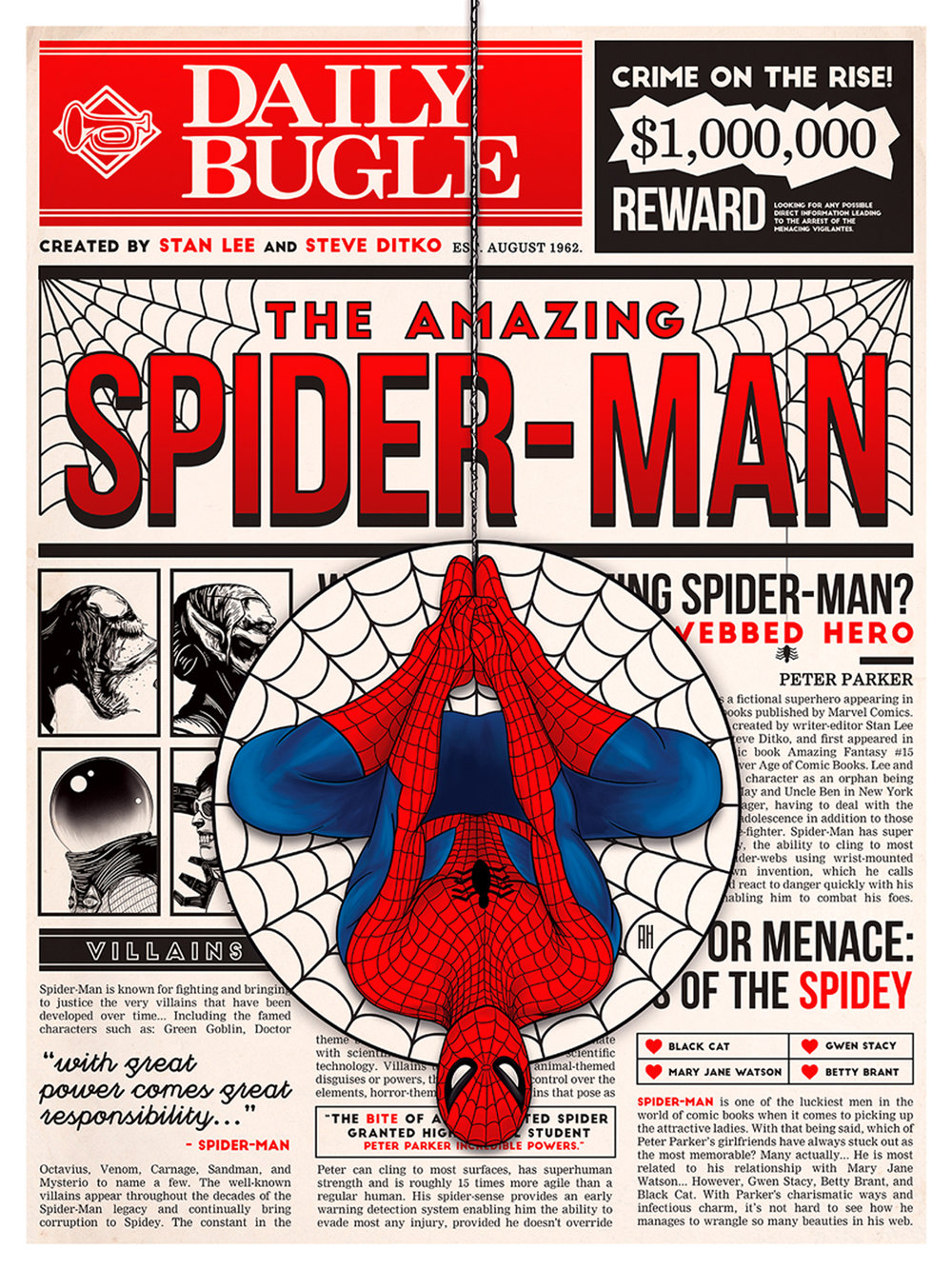 The Amazing Spider-Man: Tribute Bugle