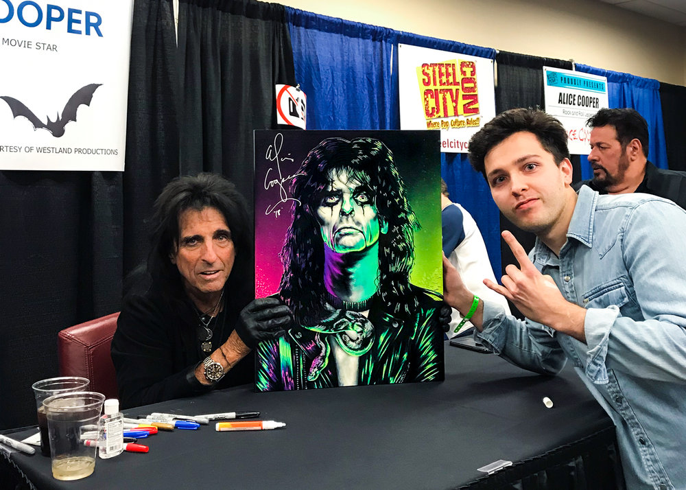 """One of the most beautiful portraits I've ever seen..."" - Alice Cooper 💀"