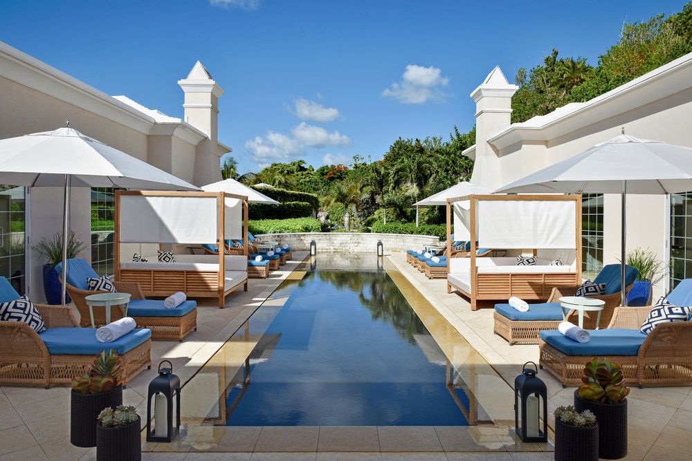 photo by  ken hayden  / reflection pool @  rosewood bermuda