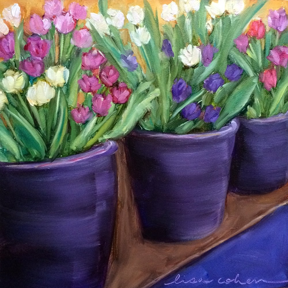 105 Buckets of Love - 6x6 oil painting - Daily Painting - Lisa Cohen.jpg