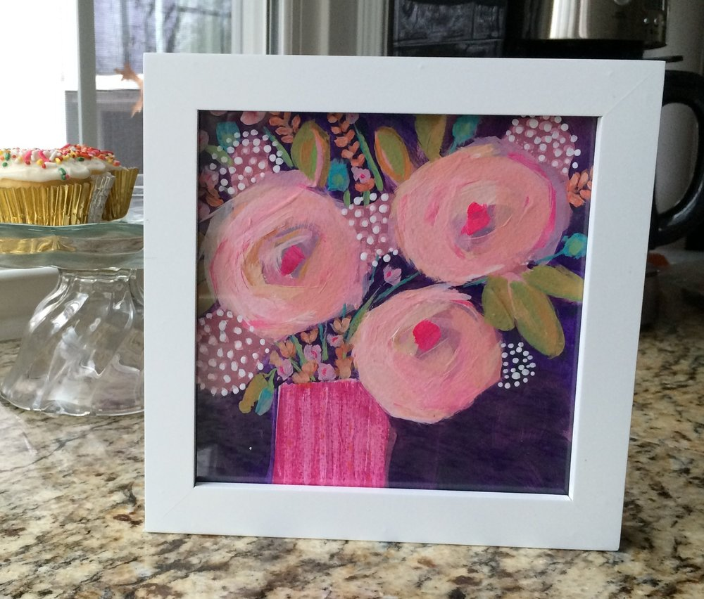 15 Pretty in Pink Original Painting Lisa Cohen.JPG