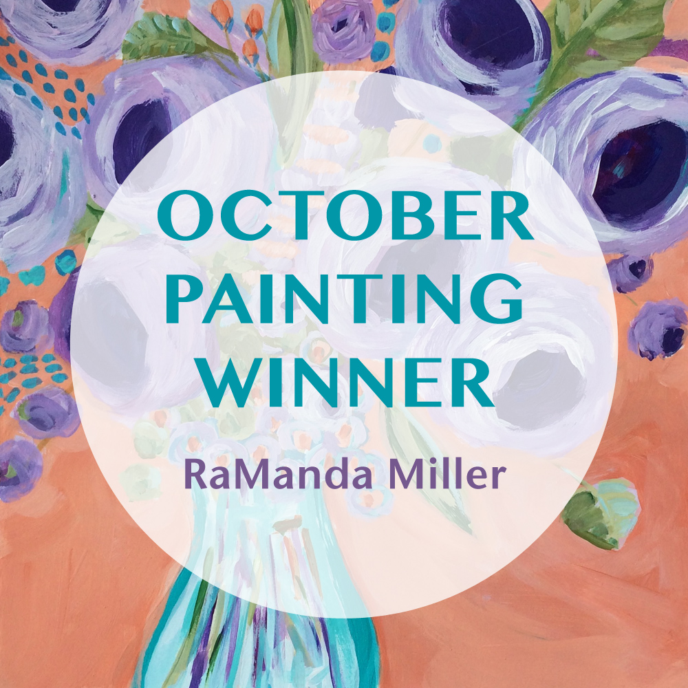 Lisa Cohen Art October 2016 Original Painting Giveaway