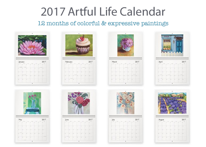 2017 Artful Life Calendar - Lisa Cohen Art