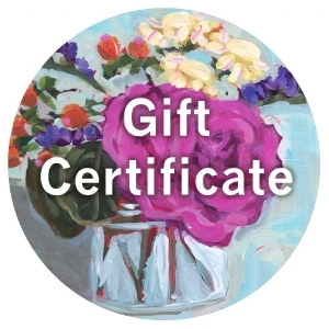 Lisa Cohen Art Shop Gift Certificates