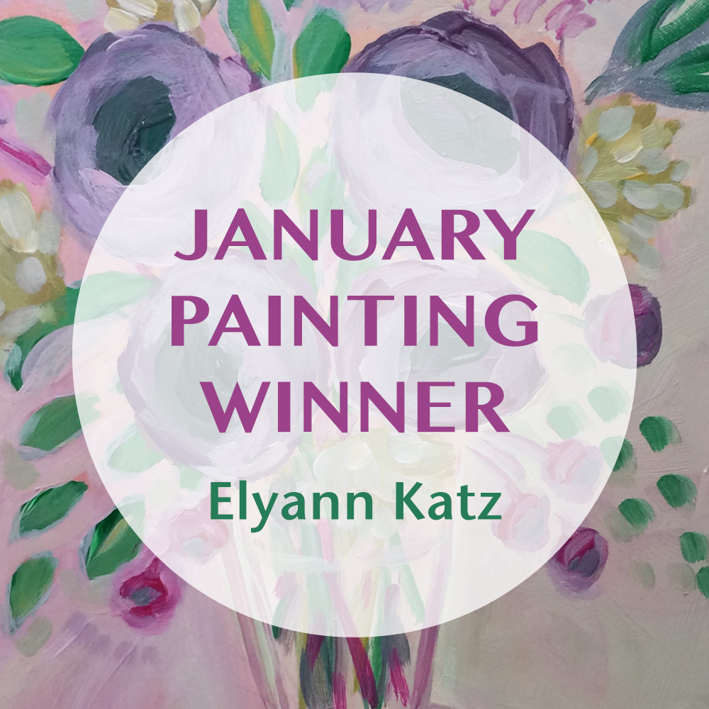 January Original Art Giveaway - Lisa Cohen Art