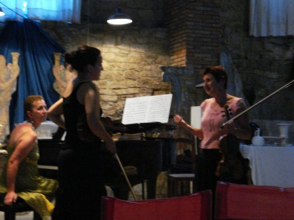 Master Class with Mimi Zweig; Italy, 2008