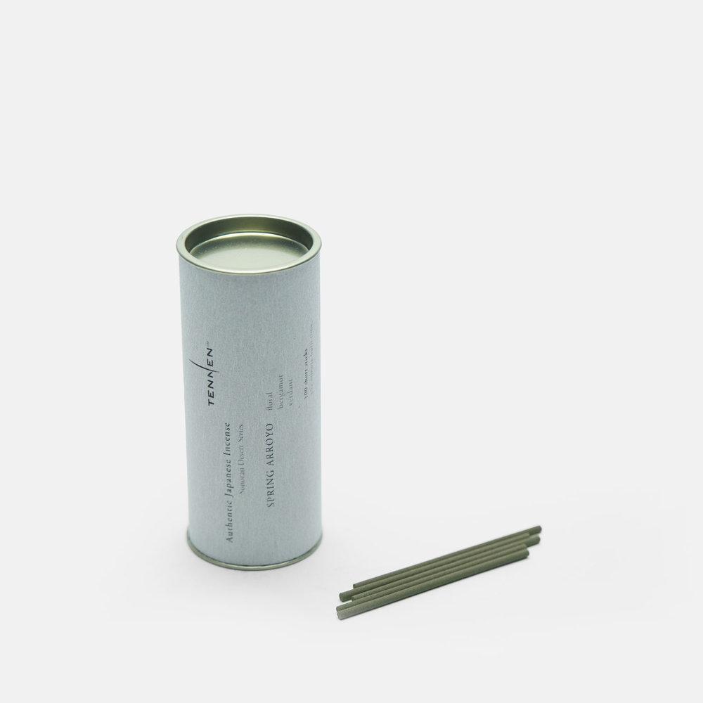 Sonoran Desert Series  SPRING ARROYO   floral, bergamot, verdant   short stick cylinder of 100