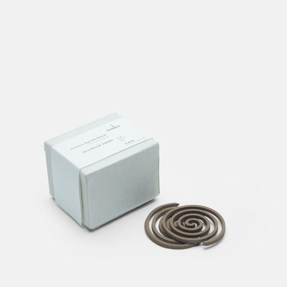 Sonoran Desert Series    IRONWOOD THORN   bright, tobacco, oud   spiral box of 10