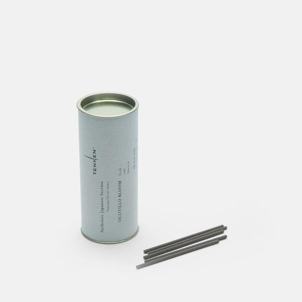 Sonoran Desert Series    OCOTILLO BLOOM   fresh, soft, uplifting   short stick cylinder of 100