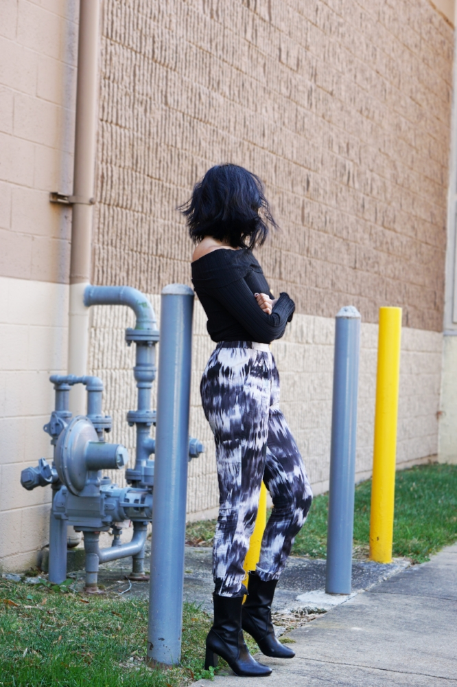 top - H&M pants - H&M shoes - H&M (wow I get a lot from H&M) choker: Forever 21