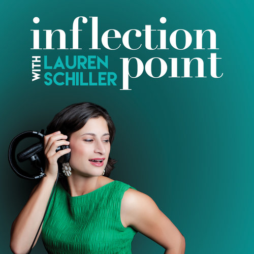 Inflection Point with Lauren Schiller - from KALW 917.FM in San Francisco. Lauren invites world-changing women to share their stories and to help us understand a moment when women are embracing their power as never before–and to inspire a future generation of women leaders. Available on Itunes and Soundcloud and you can follow Lauren Schiller @laschiller and the show page on Facebook.