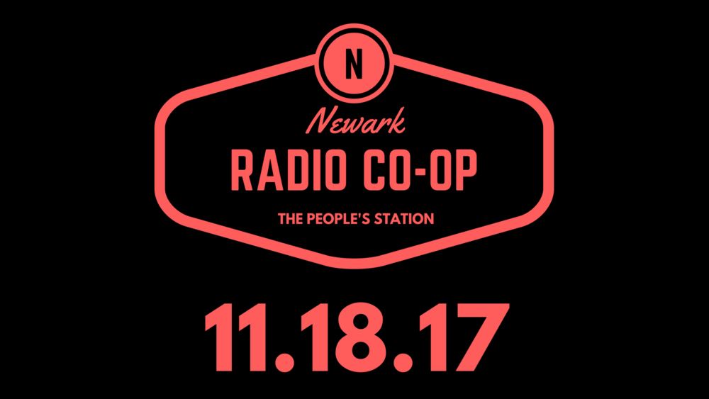 The Newark Radio Co-Op is a freeform, community radio station based in downtown Newark, New Jersey. We launch in the fall of 2017, if you are interested in hosting a show please pitch here. For news and updates, subscribe here.