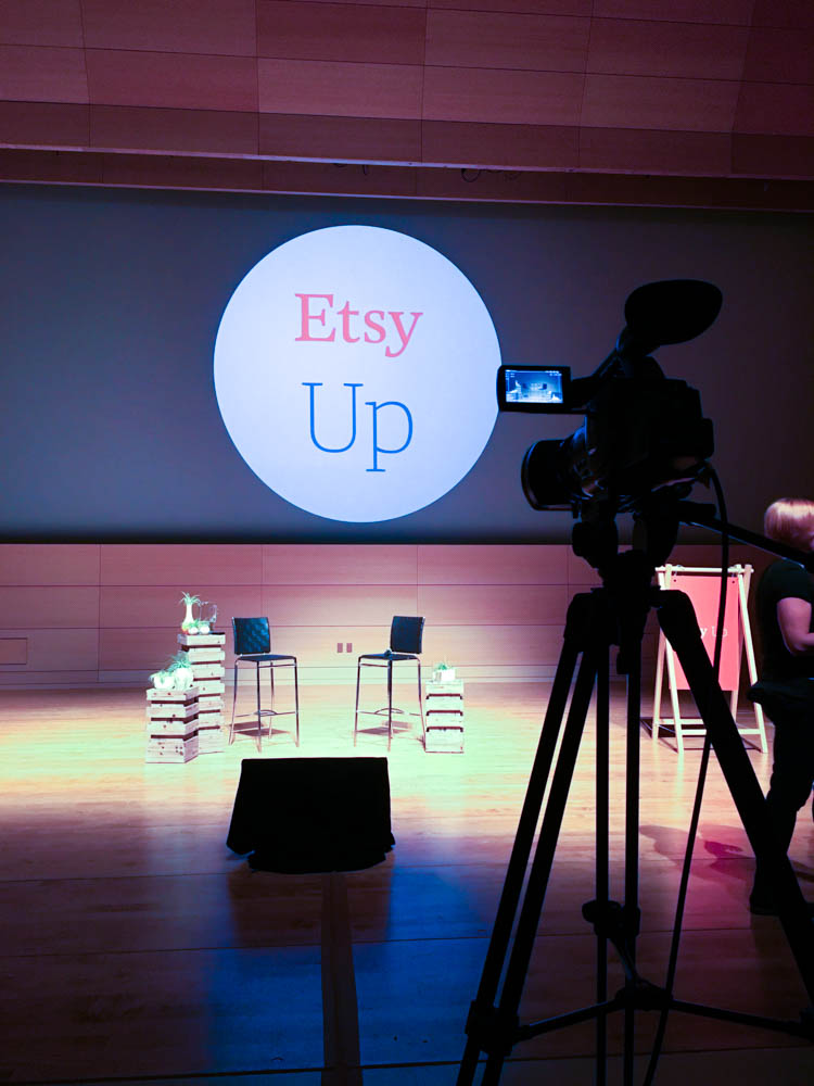 Etsy up conference in NYC
