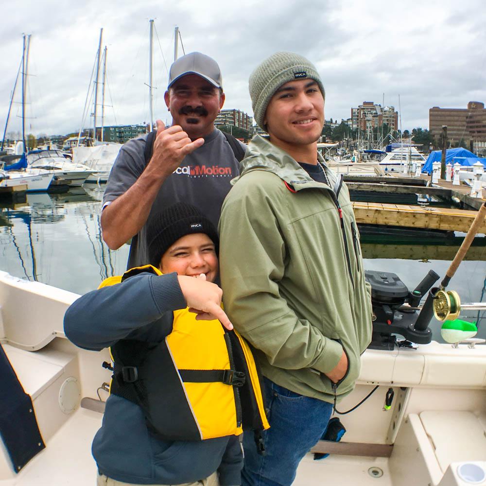 Fishing fun in Canada