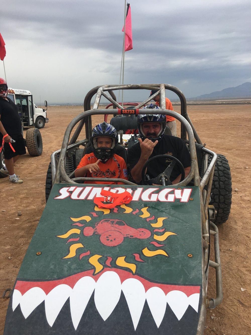 Desert buggy adventure