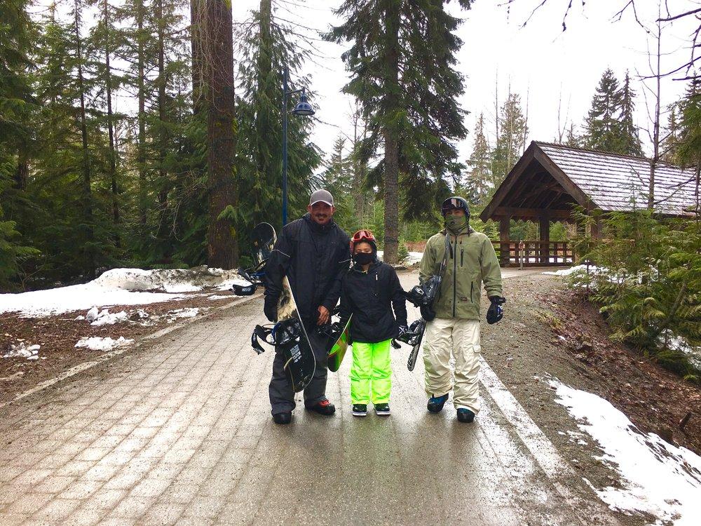 Whistler snowboarding fun