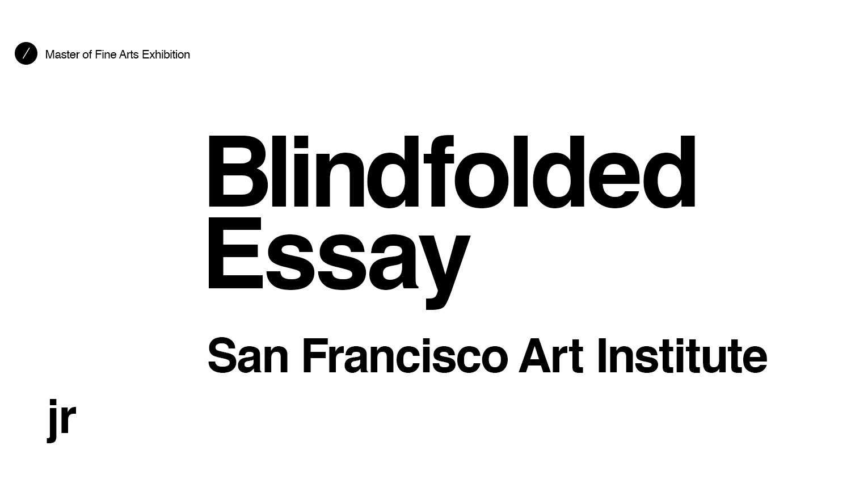 art institute essay