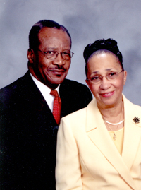 Bishop Charlotte Beeler-Petty & Trustee Clinton E. Petty