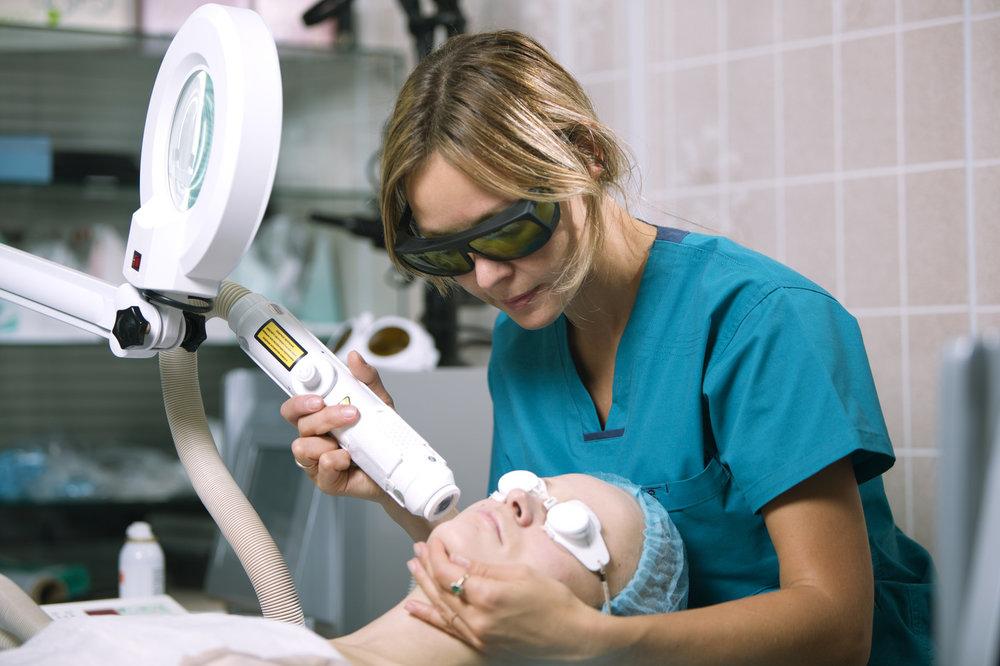 Láser en Dermatología