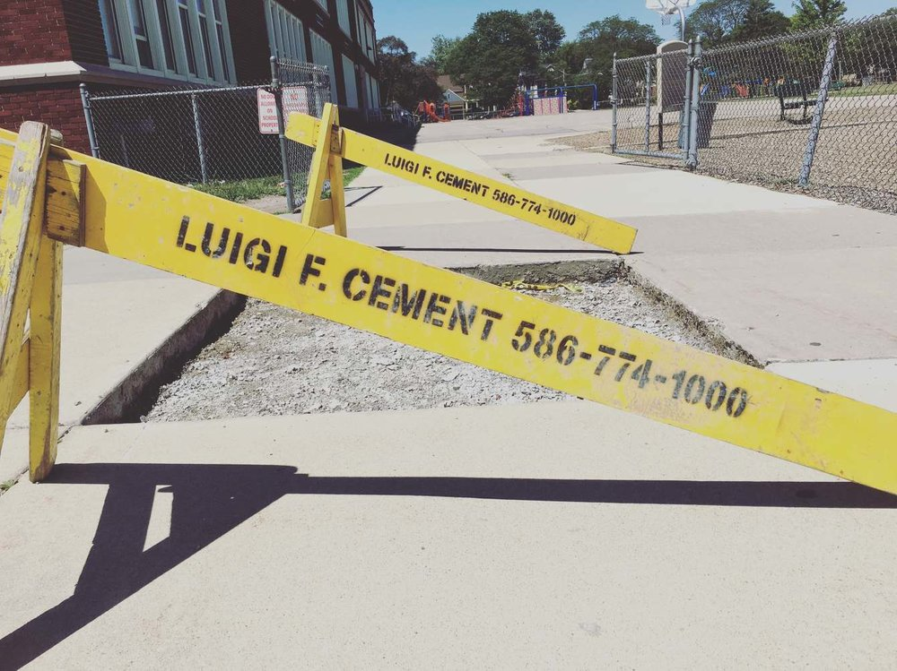 With a name like Luigi F. Cement, your career choice is kind of crammed down your throat, innit?