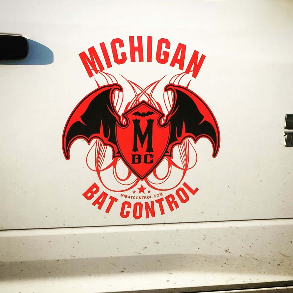 With a name like Michigan Bat Control, you better have a sweet logo.