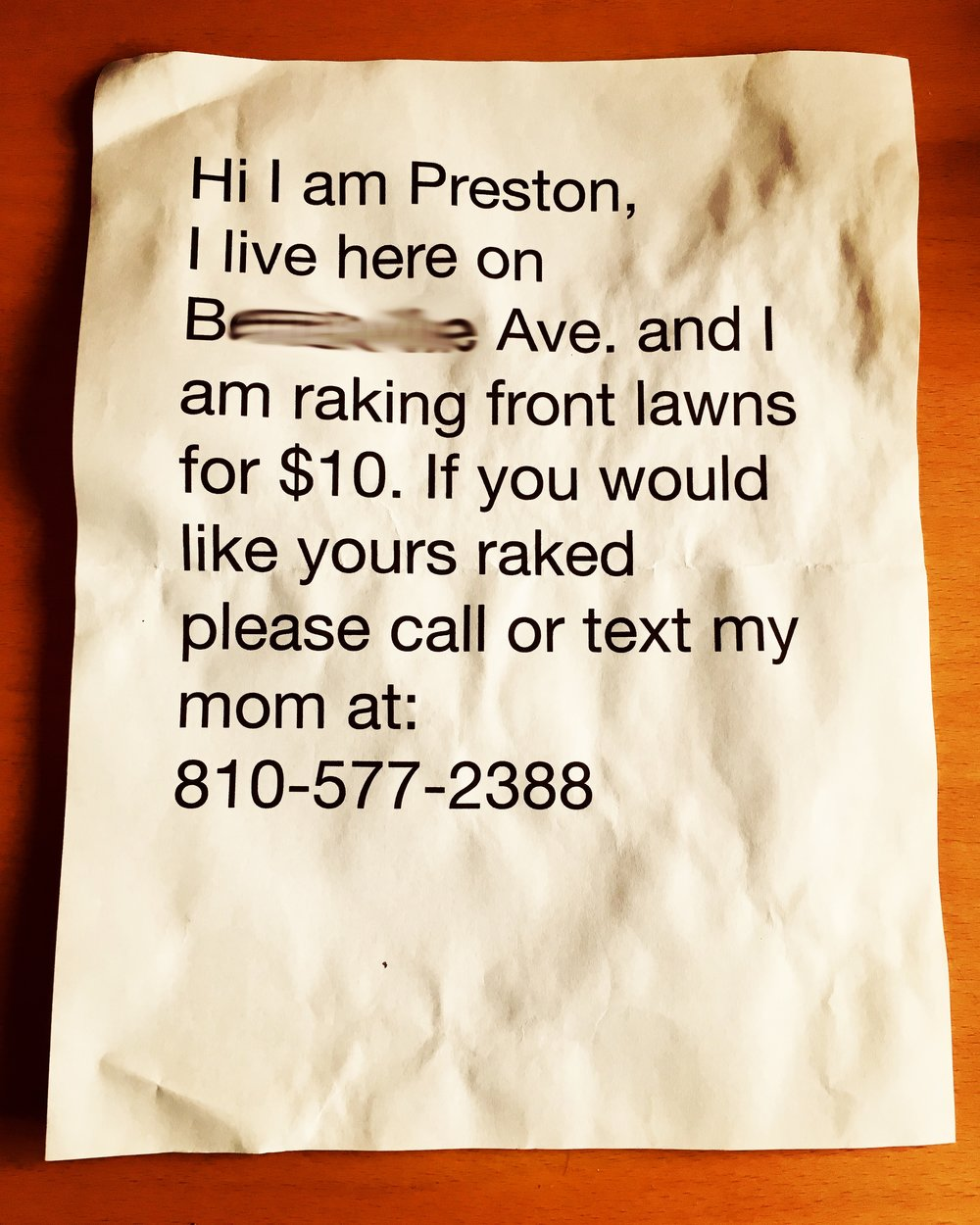 Frankly, I think this is just an elaborate scheme by Preston's mom to get laid. So rife with euphemism.
