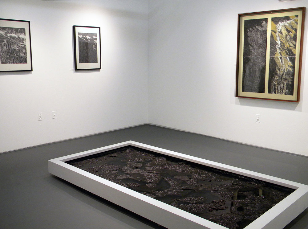 Intaglio + Monotype works, Star Store Gallery, CVPA UMass Dartmouth