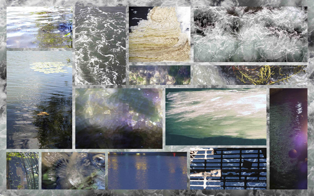 Water Montage, archival pigment print, 30x48""