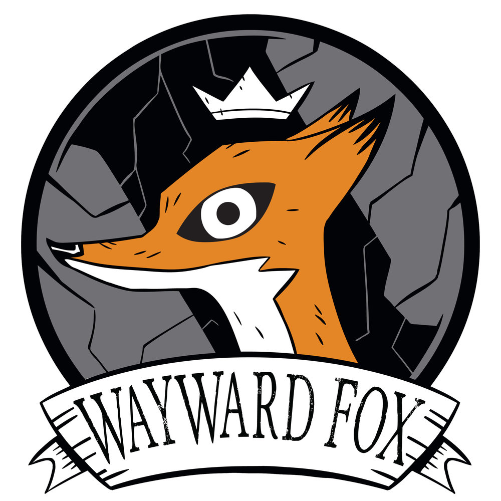 Hello and welcome to my new site.  Wayward-Fox is a new entity I've created that will encompass all of the work I create.  This includes, but is not limited to original art, Kickstarter games, and much more!  Thanks for stopping by.  Be sure to check in from time to time.  There are big things on the way!  Corey