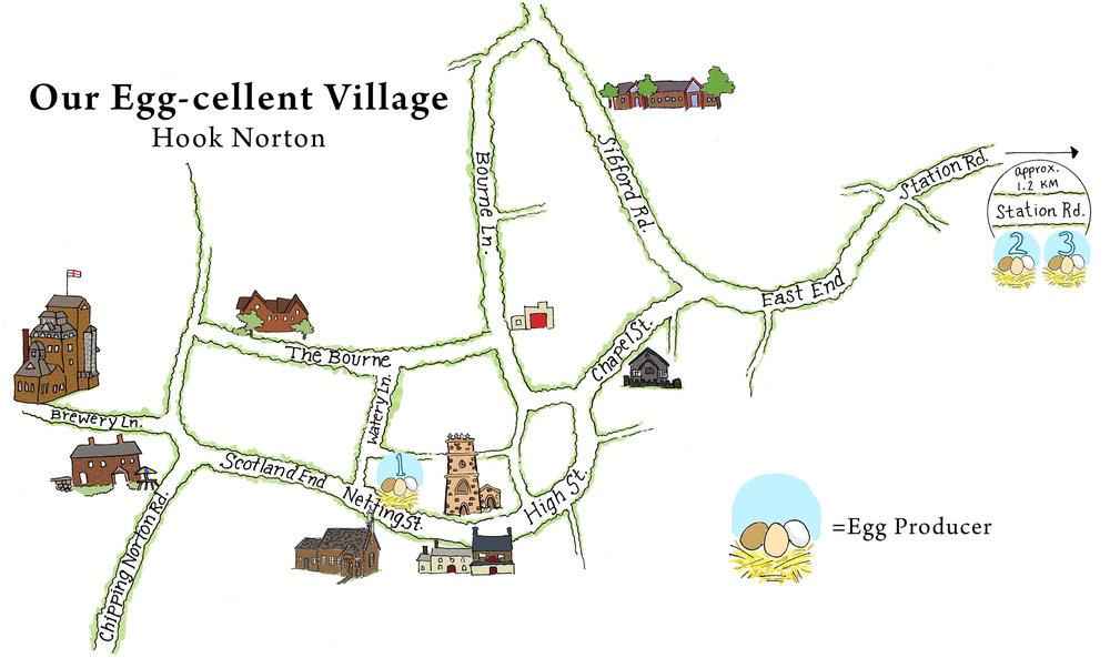 Egg-cellent Village Map