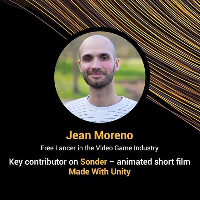 Next stop: India!  This Weds. 12/5 at 3:30pm, our lighting & shading tools lead Jean Moreno and CG supervisor @farhez will give a talk on the making of 'Sonder' at #uniteIndia2018 in #Hyderabad. More info at unite.unity.com. . . #animation #shortfilm #madewithunity @madewithunity @unity3dindia