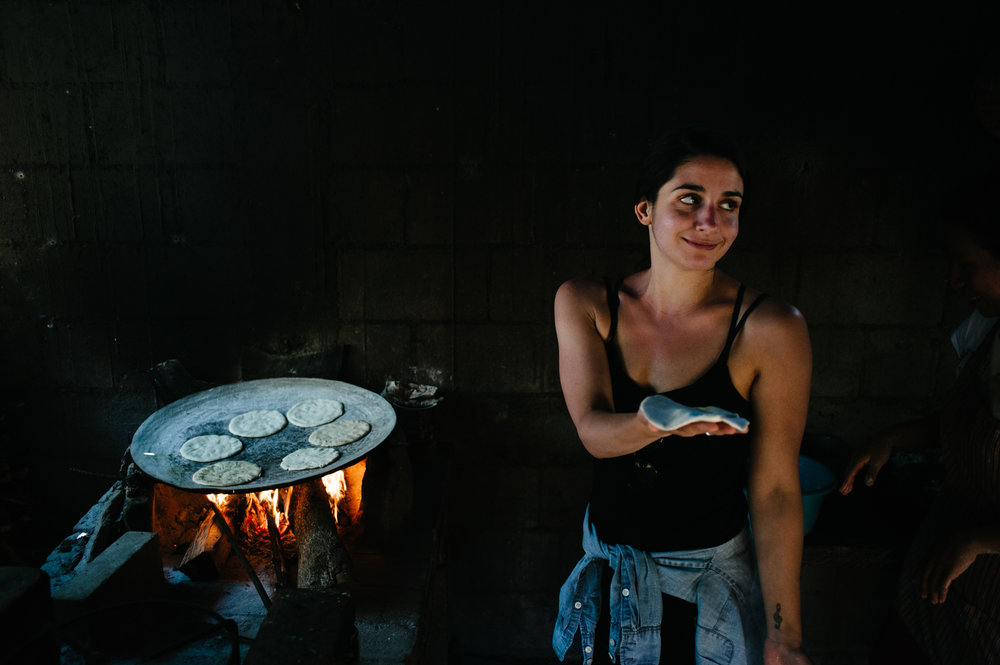 The locals say a young woman is ready to marry when she's able to make a tortilla. At this rate, I'll be a spinster forever.