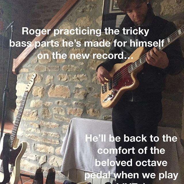 ...practise is what this needs... #practise #bass #studio #ibanez #fender #music #basslines #overdubs #vibeystudios #jamessanger