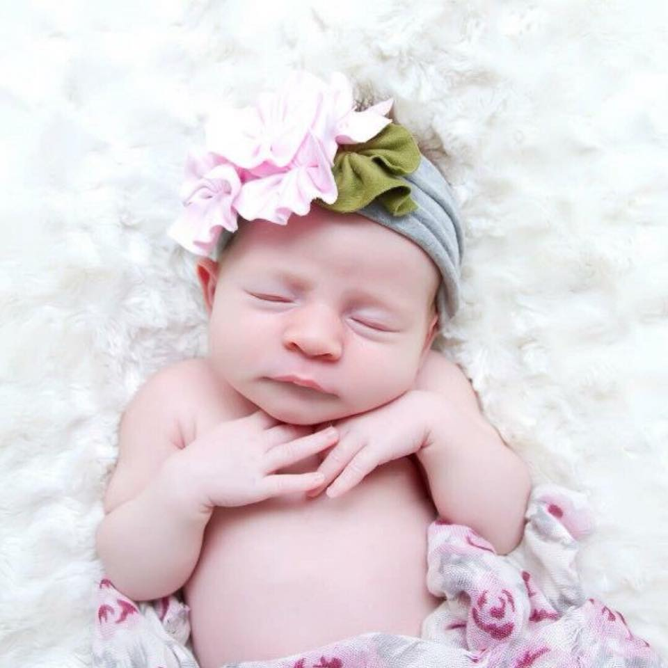 My little Ashlee, about a week old - so precious!