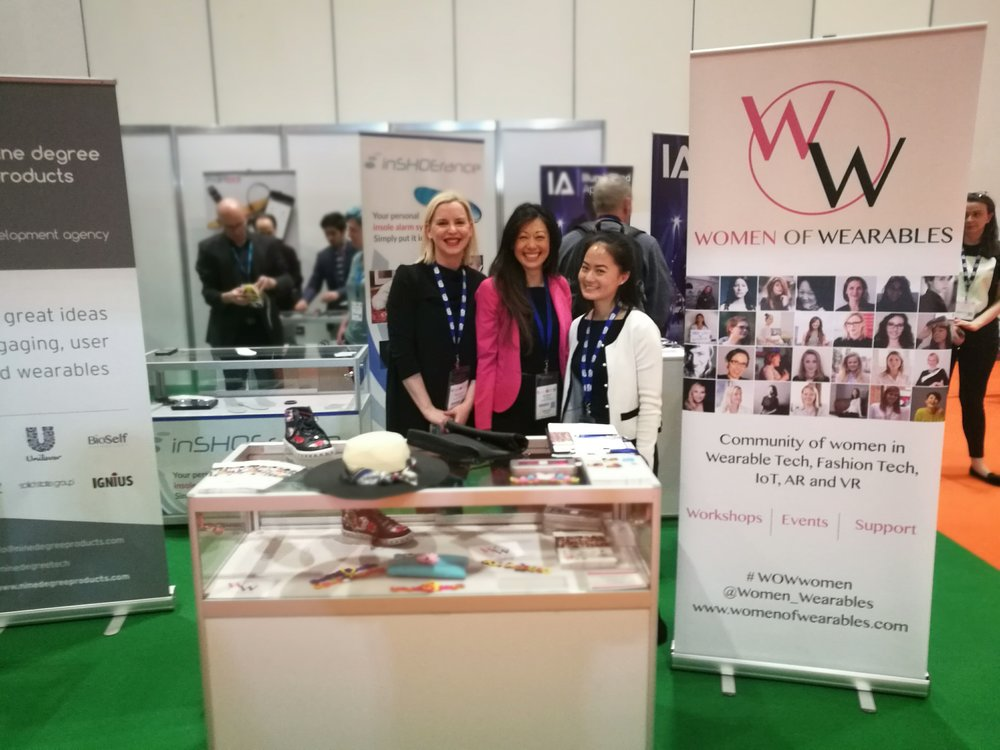 WoW team at Wearable Tech Show 2017