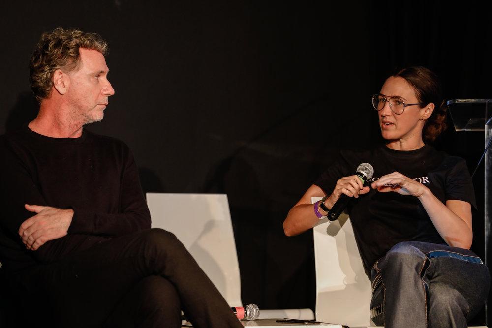Oskar - Founder of Osklen & Katherine Keating of VICE.jpg