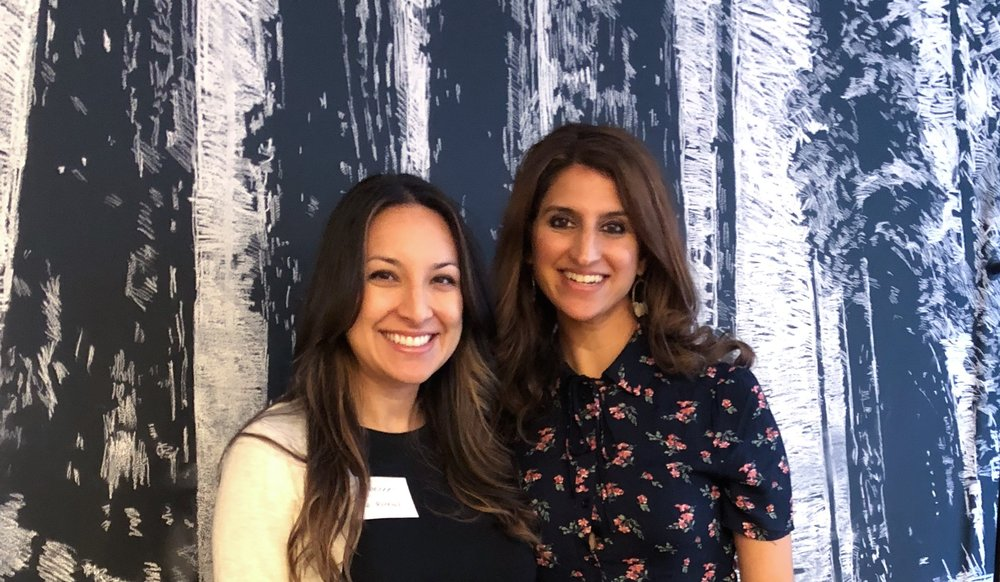 Rebecca story and Nimisha Gandhi at Serendipity 2018