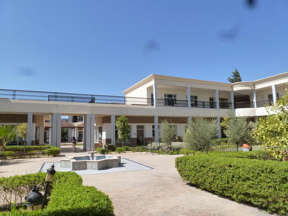 Le Centre de Formation et de Qualification dans les Métiers de l' Artisanat (CFQMA) à Fès.