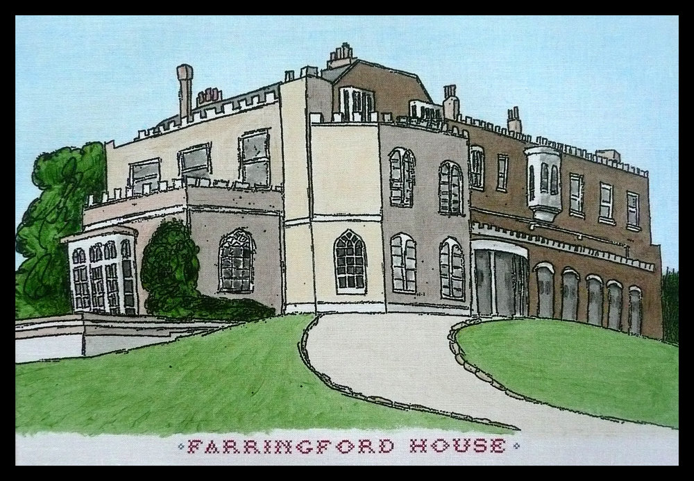 Farringford House, Isle of Wight. Home of the Tennyson family