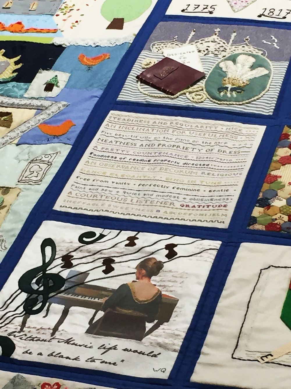 Detail at The Festival of Quilts, August 2018  Photo credit: Kathryn Green