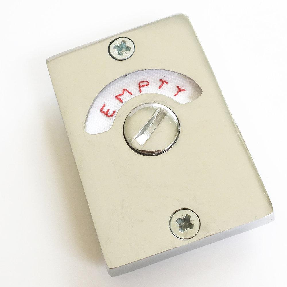 Full, Empty, Full, Empty…  Toilet Lock