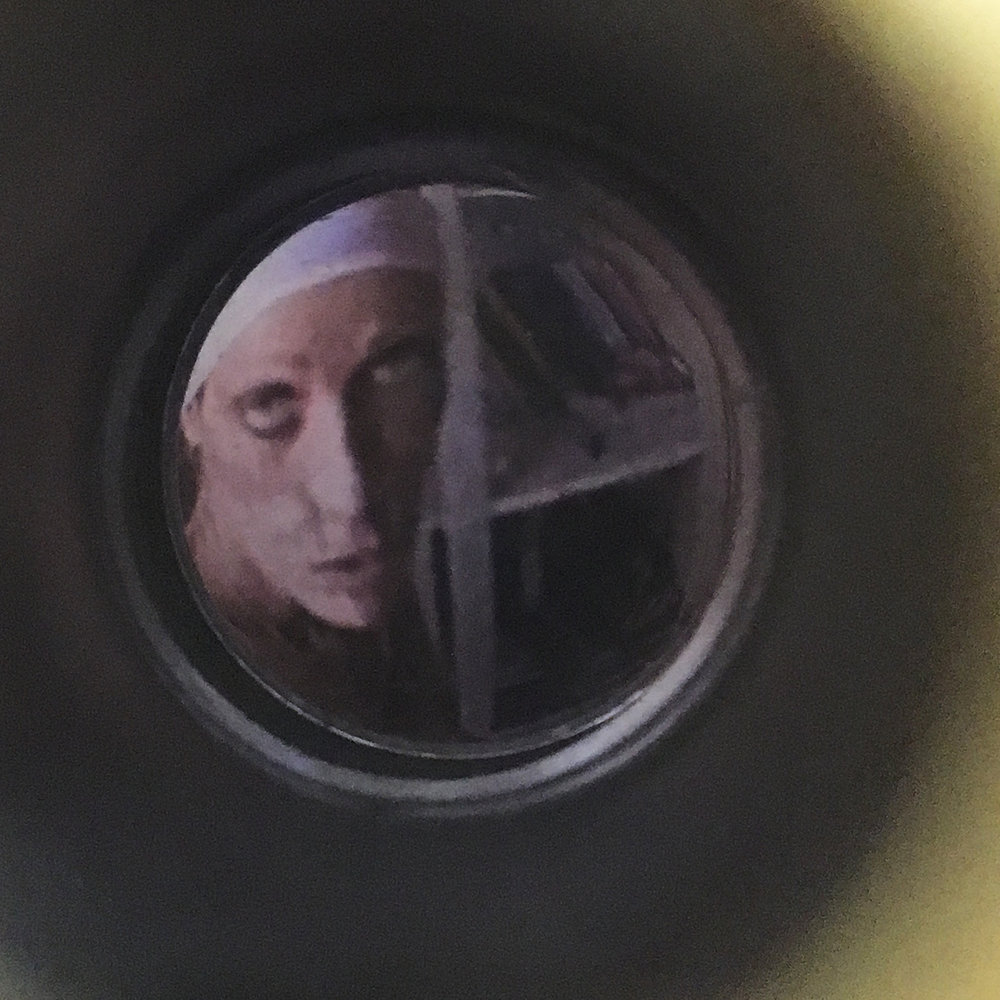 As seen through the spy-hole