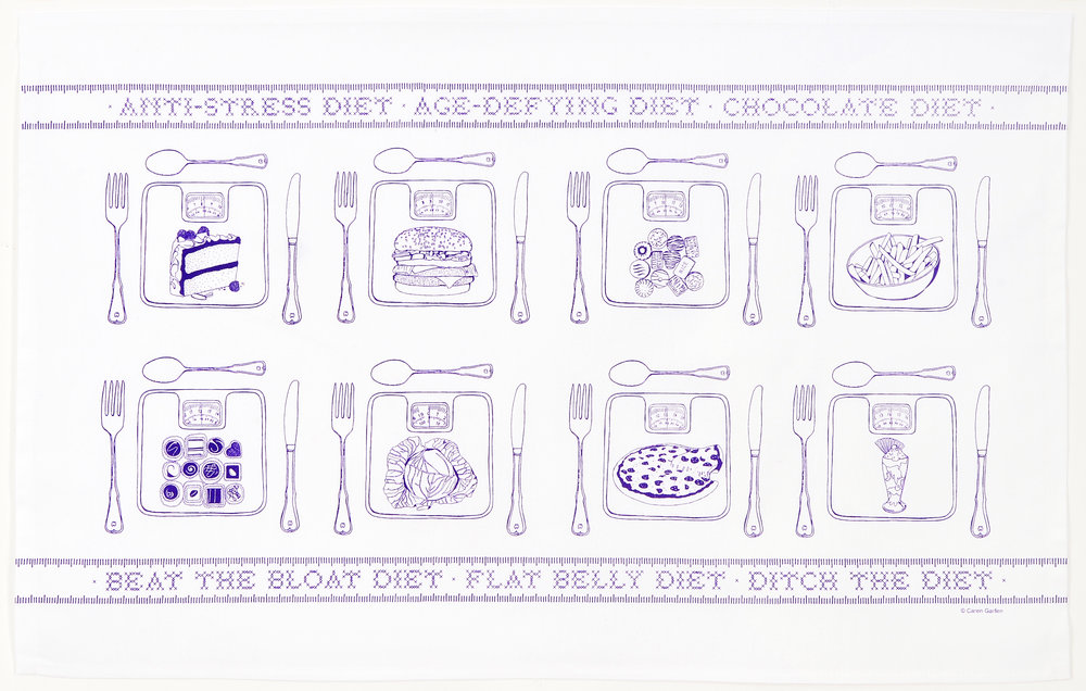Limited edition designer tea-towels (sold out)